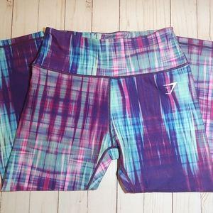 Gymshark Tye Dye Cropped Leggings M